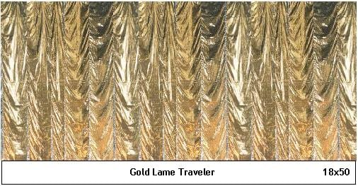 Gold Lame Traveler