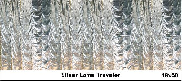 Silver Lame Traveller