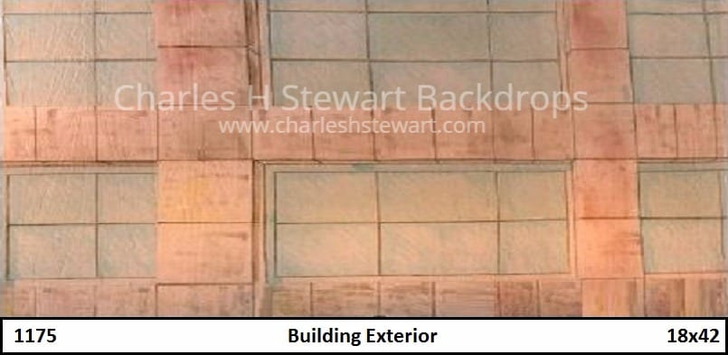 Office building exterior backdrop backdrops by charles h stewart for Interior exterior building supply corporate office