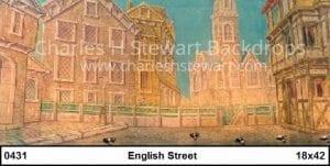 english-street-backdrop