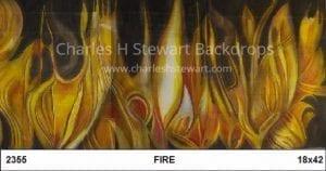 Fire-Backdrop