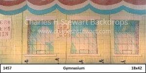 gymnasium-backdrop