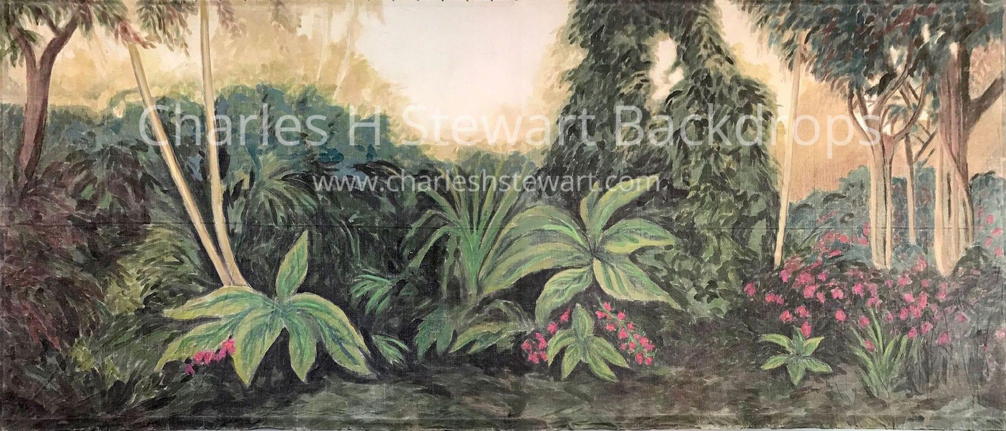 jungle backdrop backdrops by charles h stewart