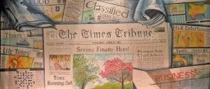Newspaper-Backdrop