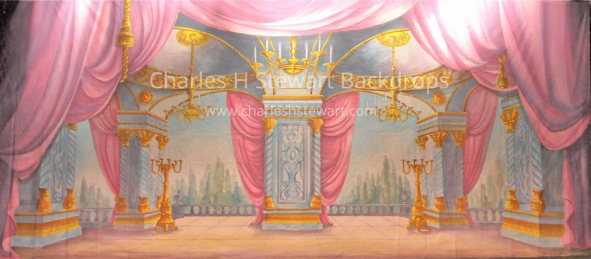 Palace Interior Backdrop Backdrops By Charles H Stewart