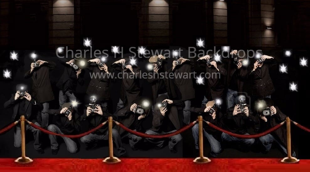 paparazzi backdrop backdrops by charles h stewart