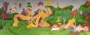 Seussical-Backdrop