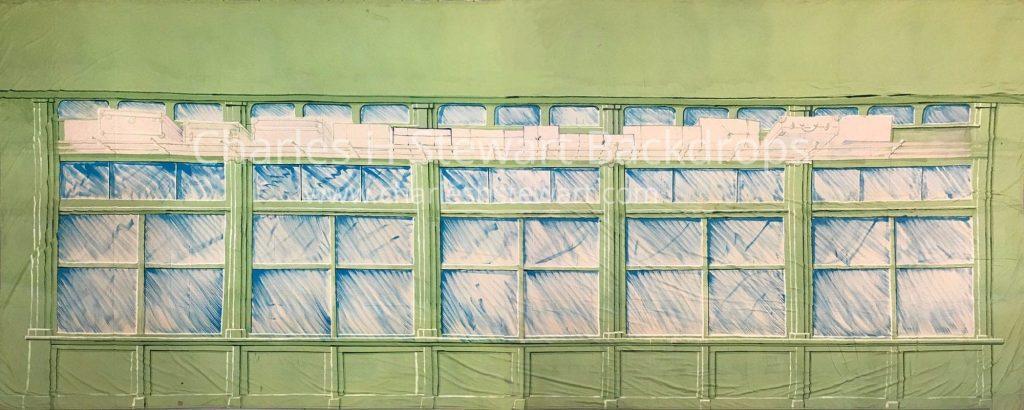 railroad car interior backdrop backdrops by charles h stewart. Black Bedroom Furniture Sets. Home Design Ideas