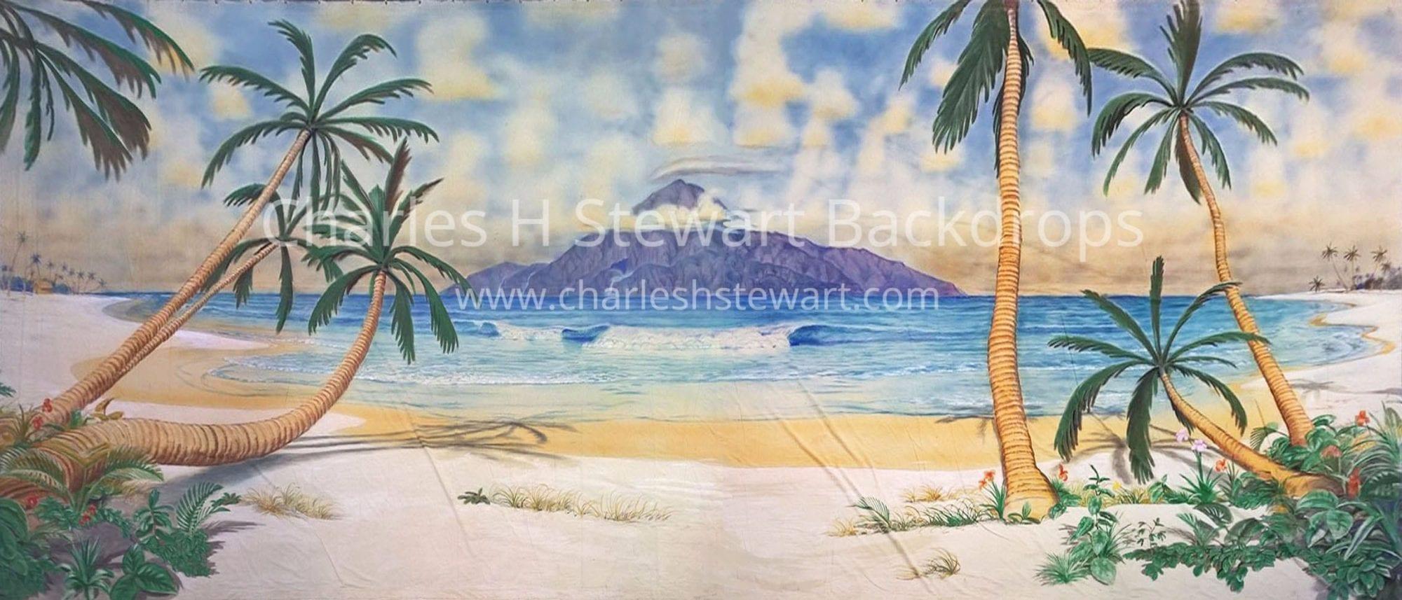 Where Is Bali Hai Island bali hai backdrop | backdrops by charles h. stewart
