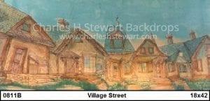 village-backdrop