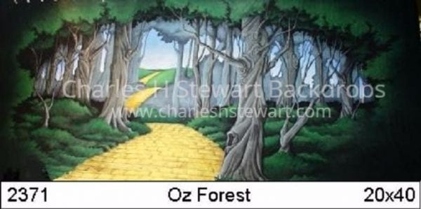 Wizard-of-Oz-Forest-Backdrop