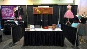 Our booth at UDMA Worcester 10/1-2/16