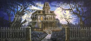 Haunted-House-Backdrop