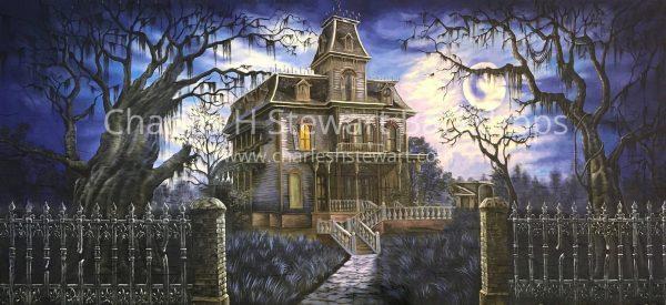 Haunted-House-Backdrop