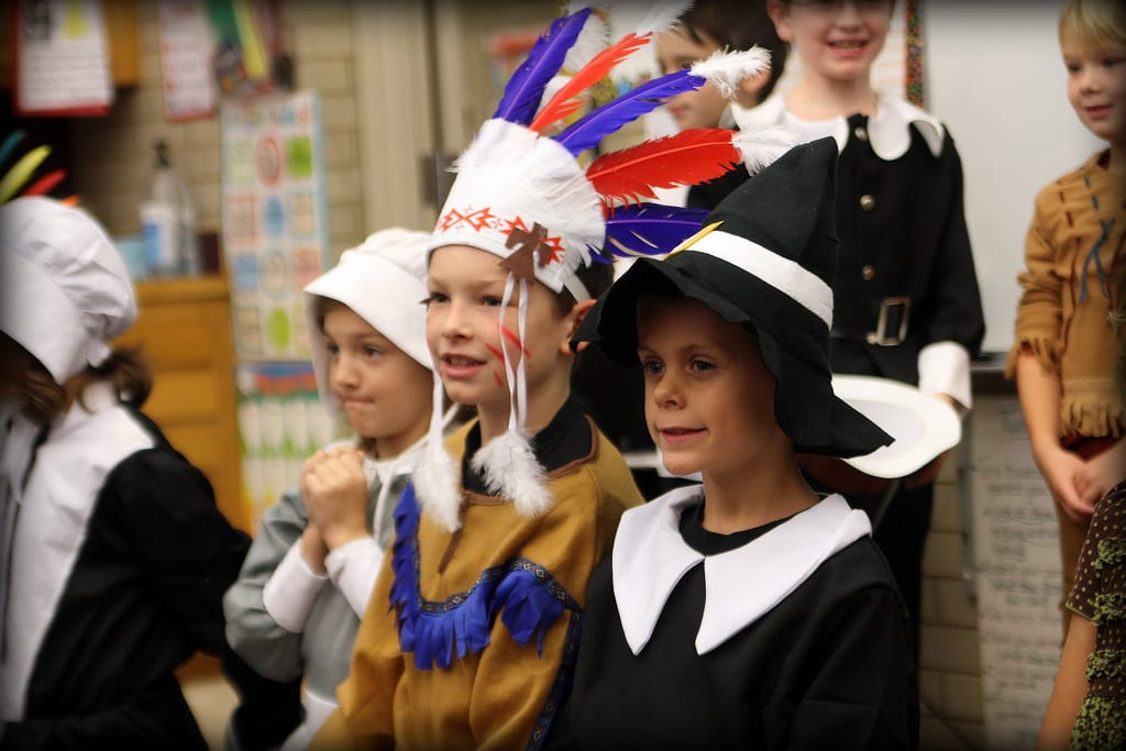 Thanksgiving School Play
